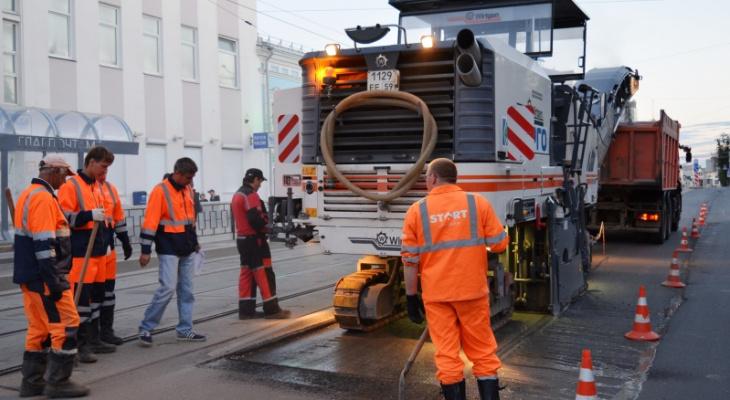В Перми начался ремонт дорог после зимы