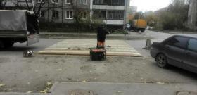 Новые неровности искусственного типа устанавливают на дорогах Перми
